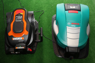 Worx Landroid and Bosch Indego robotic lawnmowers want to take the pain out of mowing