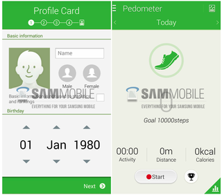 samsung to unveil revamped s health app with new version of touchwiz on galaxy s5 image 2