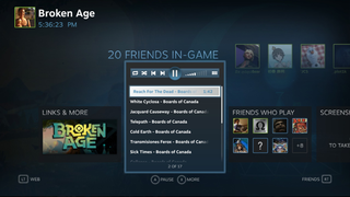 Valve announces Steam Music for you to jam while gaming