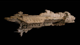Halo Lego ship is 7-foot long and took four years to make