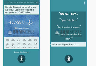 Samsung Galaxy S5 S Voice update, with TouchWiz elements, shown-off early