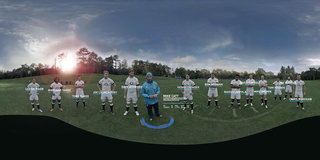 Train with the England rugby team using Oculus Rift