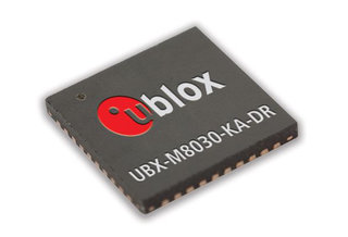 3D Dead Reckoning chip from u-blox will track you even without GPS or signal