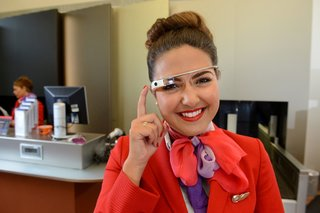 virgin atlantic to trial google glass to help check in passengers image 2