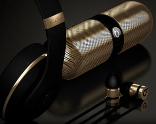 Beats X Alexander Wang collection includes studio headphones, earbuds and Pill in black and gold