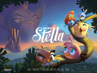 New Angry Birds adventure to aim at teenage girls with Angry Birds Stella and her BFFs