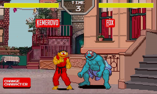 Website of the day: Sesame Street Fighter