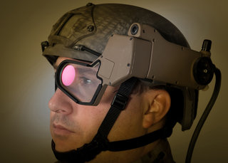 Q-Warrior heads-up display being tested in the field: Google Glass for soldiers