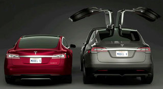 Tesla delays all-electric Model X sedan release until 2015
