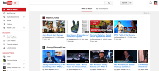 google brings back centre aligned youtube design puts emphasis on playlists image 3