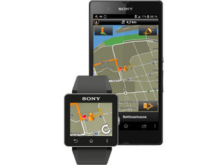 Garmin announces Sony SmartWatch 2 integration, Xperia Edition navigation app