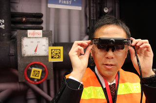 fujitsu intelligent glove uses augmented reality for working with complex machines image 2