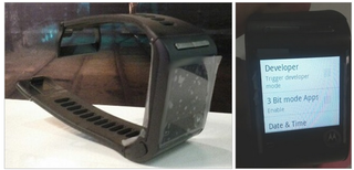 Google and Motorola's smartwatch prototype from 2013 shown in leaked photos