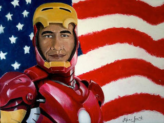 Obama announces US is building Iron Man, sort of
