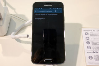 how does the samsung galaxy s5 fingerprint scanner work  image 16