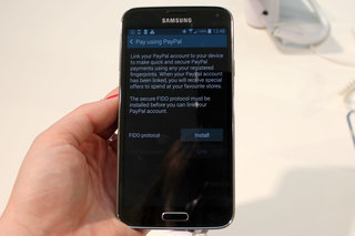 how does the samsung galaxy s5 fingerprint scanner work  image 22