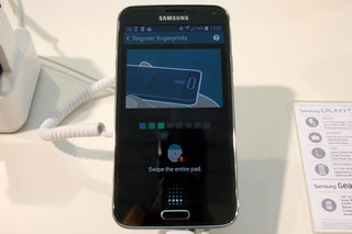 how does the samsung galaxy s5 fingerprint scanner work  image 9