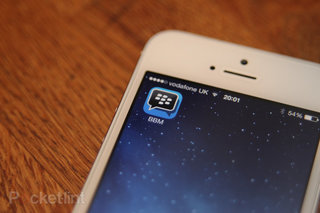 BlackBerry talks next BBM update for iPhone and Android, group photo messaging to come