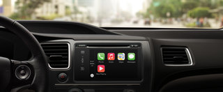 Apple CarPlay integrates iPhone with your car for mapping, music, messages, with Siri control