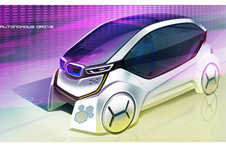 BMW Honeycomb concept re-thinks the way autonomous cars will wo
