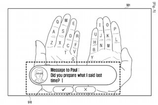 Samsung 'Galaxy Glass' wants to turn your hands into an augmented reality keyboard