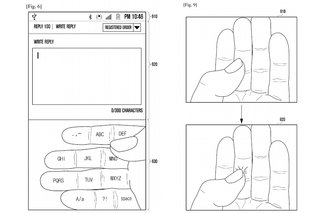 samsung galaxy glass wants to turn your hands into an augmented reality keyboard image 2