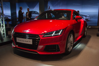 Audi TT (2014) pictures and hands-on
