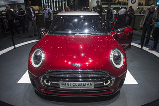 Mini Clubman Concept pictures and hands-on