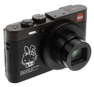 Limited edition Leica C combines two unlikely partnerships: Hello Kitty and Playboy