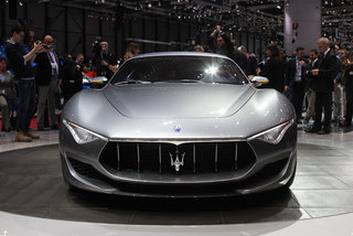 Maserati Alfieri Concept pictures and hands-on