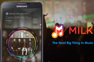 Samsung Milk Music ad-free internet radio app launches in US for select devices