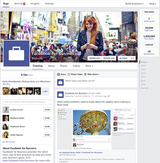 Facebook Pages get streamlined look in new redesign