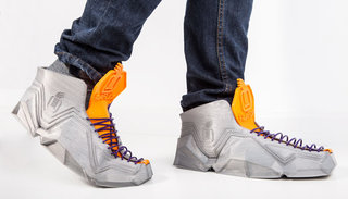 3D print a set of Sneakerbot II trainers that can fold into your pockets, for free