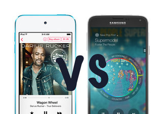 Apple iTunes Radio vs Samsung Milk: What's the difference?