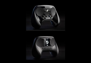valve s updated steam controller pictured with new buttons and no touchscreen image 2