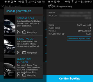 addison lee app review order or pre book minicabs with ease hands on  image 10