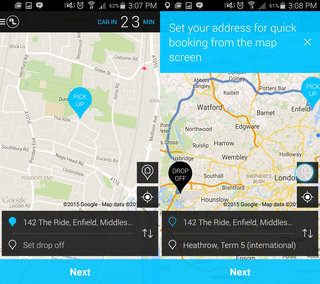 addison lee app review order or pre book minicabs with ease hands on  image 8