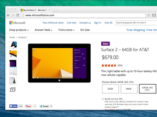 New Microsoft Surface 2 landing in US on 18 March with built-in AT&T 4G LTE