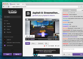 Twitch expands live broadcasting to mobile devices with Gameloft's Asphalt 8 iOS app
