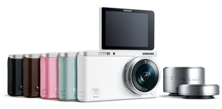 Samsung debuts Samsung NX mini interchangable-lens camera