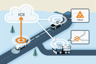 Volvo cloud cars can spot road dangers and instantly alert other cars, on the roads in testing now