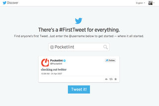 What was your first Tweet? It's this easy to find out