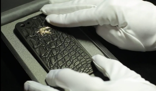 Crocodile leather wrapped Gresso Titanium Bumper will protect your iPhone for $10,000