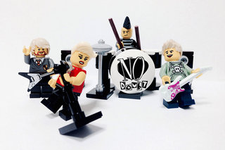 Lego rocks out with great musicians given the minifig makeover