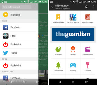 htc plans blinkfeed software for android devices from other companies image 2