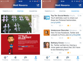 twitter s ios app tests new design and it s similar to the profile changes tested for web image 2