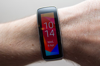 Samsung Gear Fit updated for vertical display rotation (updated)