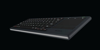 Logitech lights up the lounge with Illuminated Living-Room Keyboard