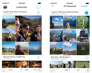 dropbox carousel app unveils for android and ios letting you back up view and share photos image 3