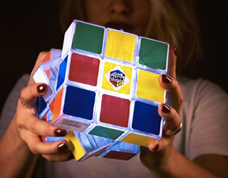 Better than birthday candles, Rubik's Cube celebrates 40 years with the Rubik's Cube Light